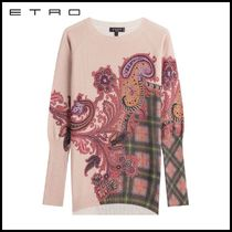 ETRO(エトロ)★Printed Wool Pullover with Cashmere★