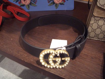 2017 GUCCI Pearl with GG belt