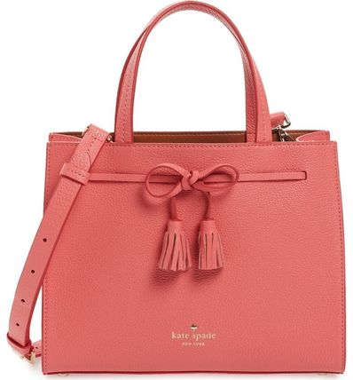 kate spade new york トートバッグ kate spade新作☆hayes street small isobel leather satchel