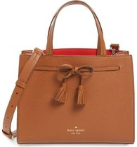 kate spade新作☆hayes street small isobel leather satchel