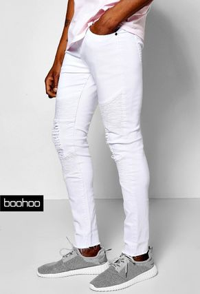 * boohoo * * libbykerskiney denim/white
