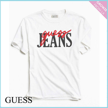 Guess Tシャツ・カットソー 【Guess】大人気!ロゴ レトロ Tシャツ♪ ユニセックス◎