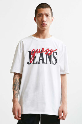 Guess Tシャツ・カットソー 【Guess】大人気!ロゴ レトロ Tシャツ♪ ユニセックス◎(2)