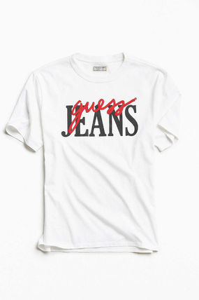 Guess Tシャツ・カットソー 【Guess】大人気!ロゴ レトロ Tシャツ♪ ユニセックス◎(7)