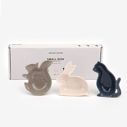 DAILYLIKE animals animal type mini dish plate (3 pieces)