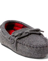 Wool Moccasin Slipper
