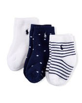 Cotton Sock 3-Pack