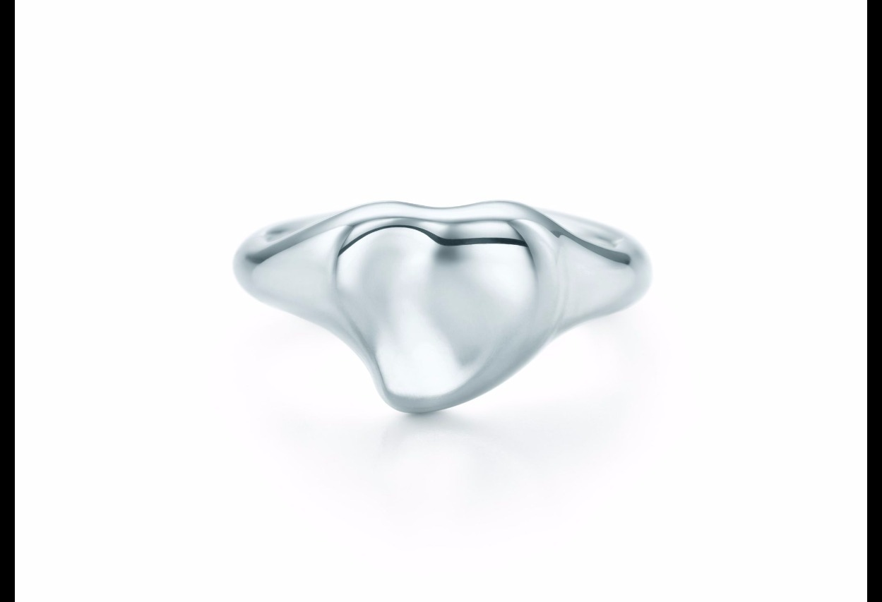 【Tiffany & Co】Elsa Peretti Full Heart Ring in Sterling