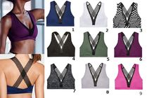Victoria's Secret☆Long Line Plunge Sport Braスポーツブラ9色
