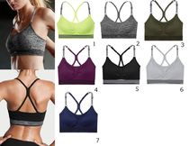 Victoria's Secret☆Seamless Sport Bra スポーツブラ7色