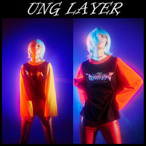UNG layer(ユーエヌジーレイヤー) Tシャツ・カットソー 韓国の人気★UNG LAYER★NEON-long sleeve送料無料
