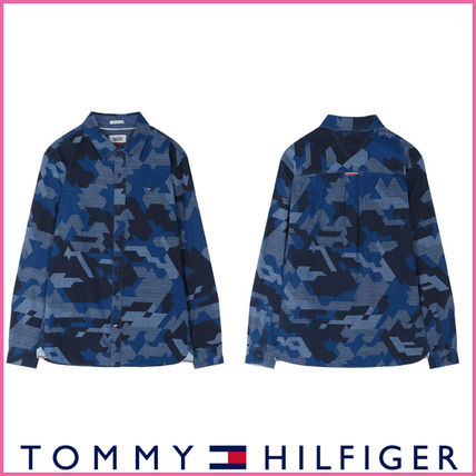 Tommy Hilfiger genuine Indigo camouflage shirt and