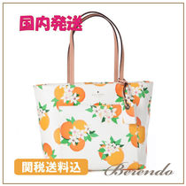 国内発送 kate spade Small Riley Harding Oranges オレンジ