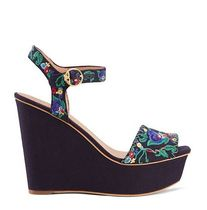 Tory Burch SONOMA EMBROIDERED PLATFORM SANDAL