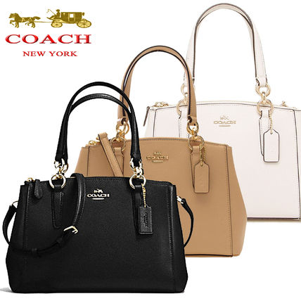 Coach ハンドバッグ SALE!Coach(コーチ) MINI CHRISTIE CARRYALL 2wayF57523 3色