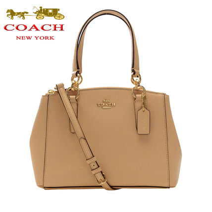 Coach ハンドバッグ SALE!Coach(コーチ) MINI CHRISTIE CARRYALL 2wayF57523 3色(11)