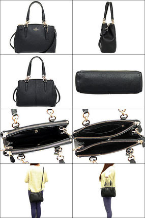 Coach ハンドバッグ SALE!Coach(コーチ) MINI CHRISTIE CARRYALL 2wayF57523 3色(2)