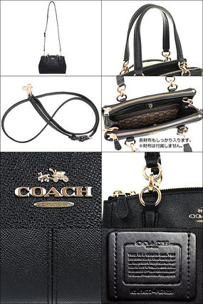 Coach ハンドバッグ SALE!Coach(コーチ) MINI CHRISTIE CARRYALL 2wayF57523 3色(3)