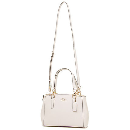 Coach ハンドバッグ SALE!Coach(コーチ) MINI CHRISTIE CARRYALL 2wayF57523 3色(5)