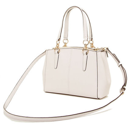Coach ハンドバッグ SALE!Coach(コーチ) MINI CHRISTIE CARRYALL 2wayF57523 3色(6)