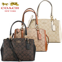 COACH SALE! 人気色 MINI CHRISTIE CARRYALL 2way 3色