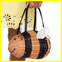 kate spade /カゴバッグ/ down the rabbit hole wicker bee