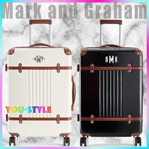 marc&graham スーツケース Terminal 1 Checked Spinner