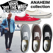 -  Vans - AUTHENTIC Anaheim Factory 44 DX スニーカー5色 即発