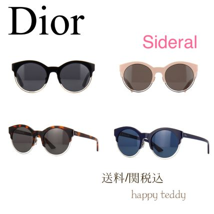 Shipping Dior sunglasses Sideral 1 / blue black brown pink