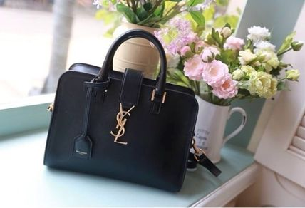 早い者勝ち!SAINT LAUREN★SALE★Monogram baby Cabas in black
