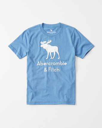 Abercrombie & Fitch キッズその他  新作  アバクロ・キッズ ボーイズ★ logo graphic tee