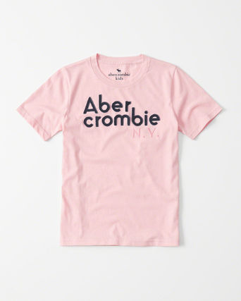 Abercrombie & Fitch トップス  新作  アバクロ・キッズ ボーイズ★ logo graphic tee