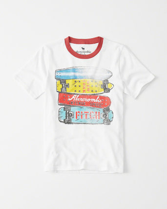 Abercrombie & Fitch トップス  新作  アバクロ・キッズ ボーイズ★ graphic tee