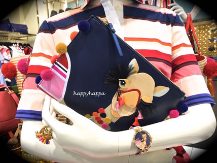 pompons Kate spade healed, probably about 2 with Pouch