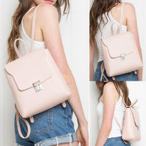 PINK BUCKLE BACKPACK パックパック リュック★関税込