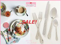 即納☆最終SALE☆最安値*【Anthro】Polka Dotted Flatware