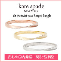 【国内発送】DO THE TWIST PAVE HINGED BANGLE セール