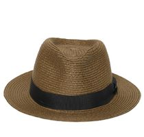 DIESEL(ディーゼル) ストローハット DIESEL PLEATED STRAW HAT