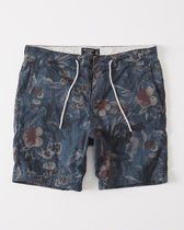【送料無料】ABERCROMBIE&FITCH  PATTERNED PULL-ON SHORTS