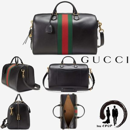 GUCCI バッグ [GUCCI]【Leather duffle】 ダッフルバッグ / ボストンバッグ