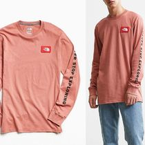 【THE NORTH FACE】US限定★ロゴ入り長袖Tシャツ
