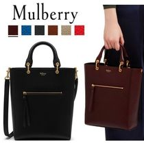 追跡送料込 Mulberry 本店★Small Maple Classic Grain Leather