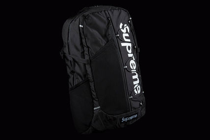 SS17 SUPREME BACKPACK BLACK ブラック 送料無料