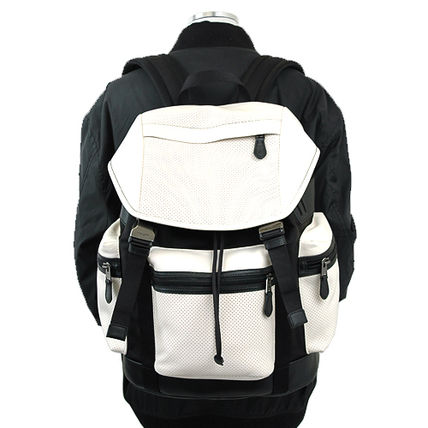 Coach バックパック・リュック 【即発◆3-5日着】COACH◆TREK PACK PERFORATED◆バックパック(13)