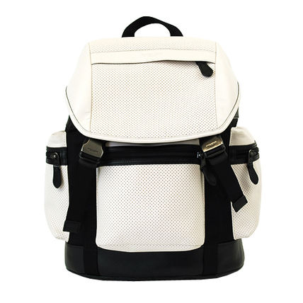 Coach バックパック・リュック 【即発◆3-5日着】COACH◆TREK PACK PERFORATED◆バックパック(8)