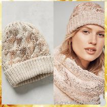 Anthropologie(アンソロポロジー) ベレー帽 【国内発 Anthropologie 送料込】Glinted Cables Beanie