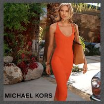 NEW◆MICHAEL KORS◆2Color◆Ribbed Sweater Dress