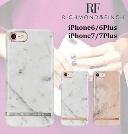 【新作】RICHMOND & FINCH 大理石 iPhone6/6Plus/7/7Plus ケース