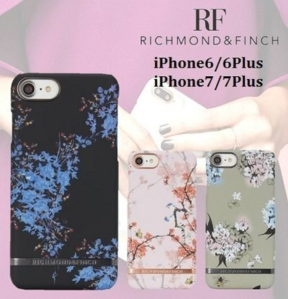 【新作】RICHMOND & FINCH 花柄 iPhone6/6Plus/7/7Plus ケース
