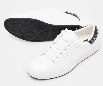 [8 X GD`s PICK] 2017 SS_ Stud Sneakers White